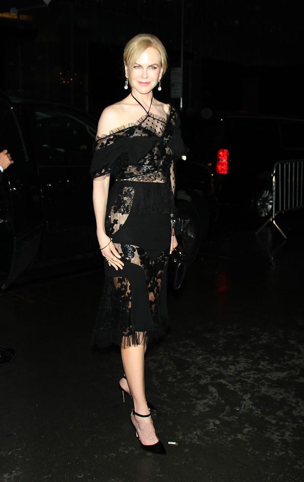 Nicole Kidman na pré-estreia do filme Genius, em Nova York (Foto: AKM-GSI Brasil)