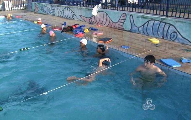 Boa Vista recebe amazonenses para campeonato de natação (Foto: Bom Dia Amazônia)