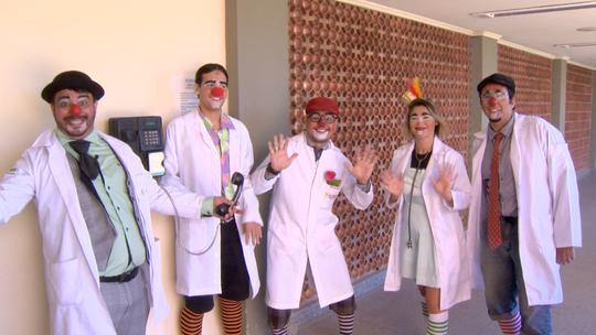 Doutores Palhaços levam alegria aos hospitais da Grande Vitória