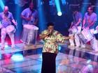 Ellen Oléria representa time de Carlinhos Brown na final com 'Taj Mahal'