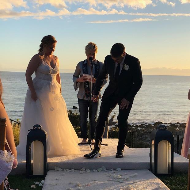 Amy Schumer e Chris Fischer se casam em segredo (Foto: Reprodução/Instagram)