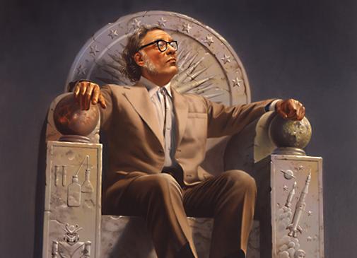 Isaac Asimov (Foto: Wikimedia Commons)