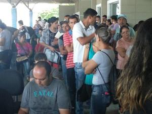 Fila chamou a atenção dos moradores em Boituva (Foto: Divulgação/PAT Boituva)