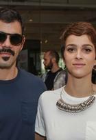 Juliano Cazarré, Julia Faria e mais famosos vão ao segundo dia do SPFW