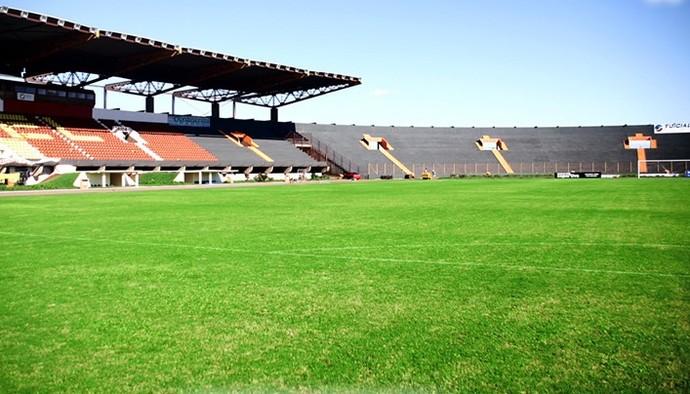 Estádio Olímpico de Cascavel irá receber Gre-Nal do segundo turno do Brasileirão (Foto: Arquivo/Prefeitura de Cascavel)