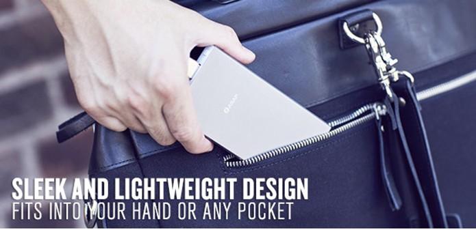 Asap Dash tem design compacto e é fabricado em alumínio (Foto: Divulgação/Indiegogo)