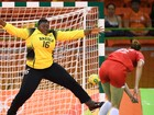 Miss Plus Size e Paulinha Leite sobre goleira de Angola: 'Ela é o máximo!'