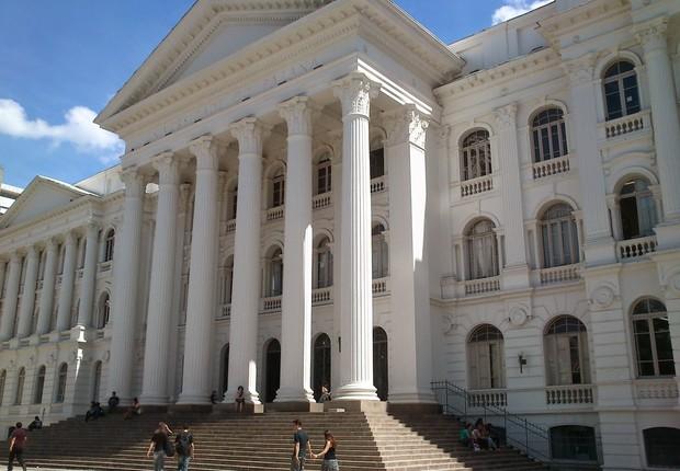 Universidade Federal do Paraná (UFPR), onde o juiz Sérgio Moro dá aulas (Foto: Wikimedia Commons/Wikipedia)
