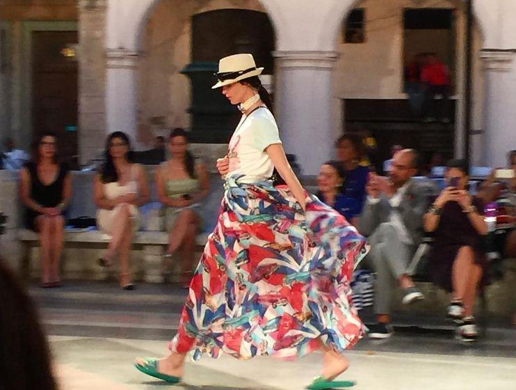 O desfile da Chanel em Cuba (Foto: Reprodução/Instagram)