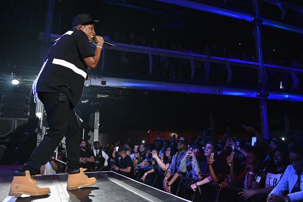 Jay-Z é um exemplo atual do DNA rapper da yellow boot (Foto: Getty Images)