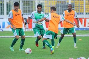 Treino LEC, 2015 (Foto: Assessoria/Luverdense Esporte Clube)