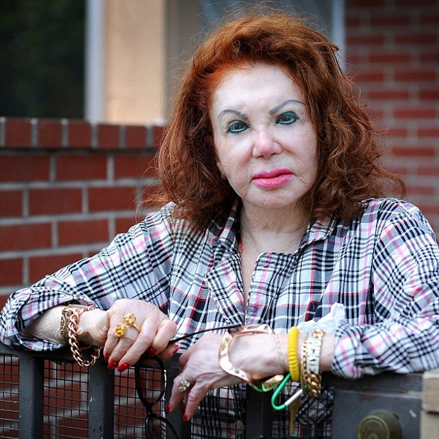 Jackie Stallone (Foto: Daily Mail)