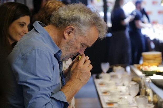 O chef francês Alain Passard (Foto: Paulo Guimarães)
