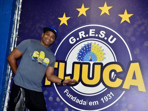Fábio Costa, coreografo da Unidos da Tijuca (Foto: Roberto Teixeira/ EGO)