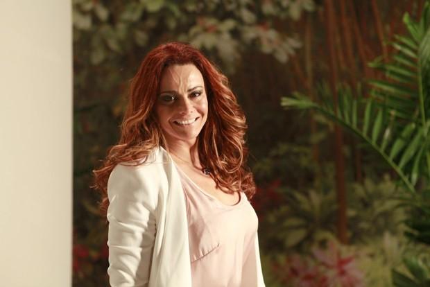 Viviane Araújo na Coletiva de Império (Foto: Isac Luz / EGO)