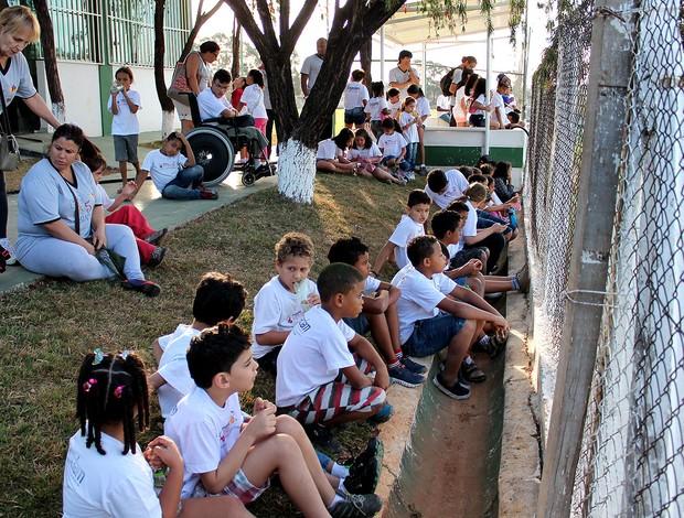 projeto Verena no América-MG (Foto: Éber Vaz / América-MG)
