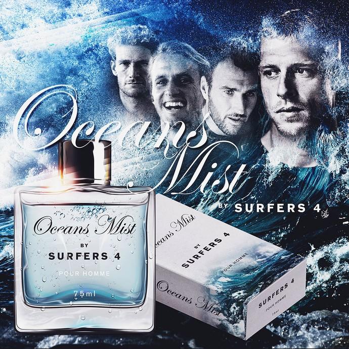 Perfume Oceans Mist surfe, Mick Fanning (Foto: Reprodução/Instagram)