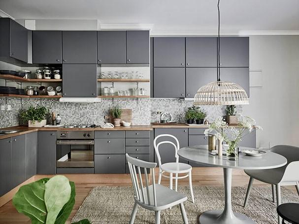 Décor do dia: cozinha escandinava