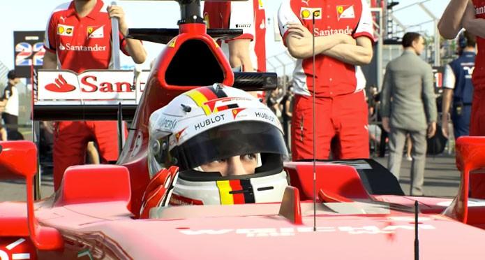 F1 2015 vem com gráficos realistas nos pilosot e carros (Foto: Divulgação)