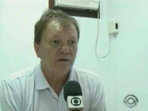 Rogério Luiz Kumlehn é diretor de trânsito em Jaraguá desde janeiro de 2013 (Foto: Reprodução/RBS TV)