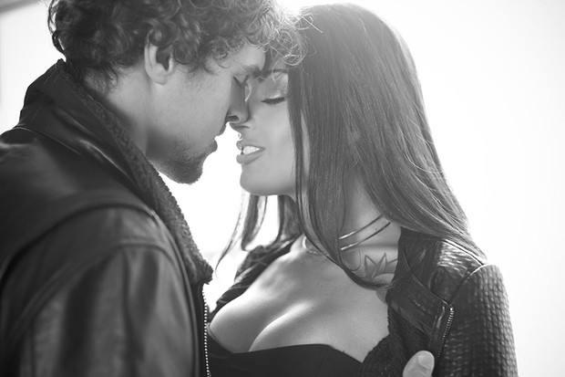 Aline Riscado e Felipe Roque (Foto: Anderson Barros / EGO)