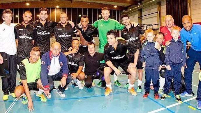 Bruno Barboza Uberaba futsal Bélgica Itália carreira Selaklen Thulin  (Foto: Bruno Barboza/ Arquivo Pessoal)