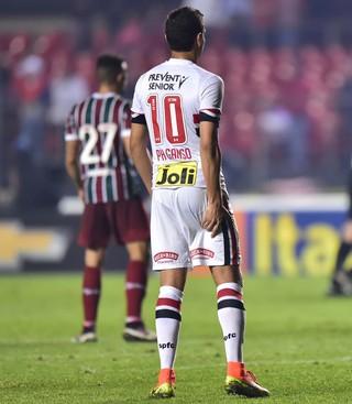 Ganso São Paulo x Fluminense (Foto: Marcos Ribolli)