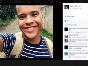 Lucas Pereira (Foto: Reprodução/ Facebook)