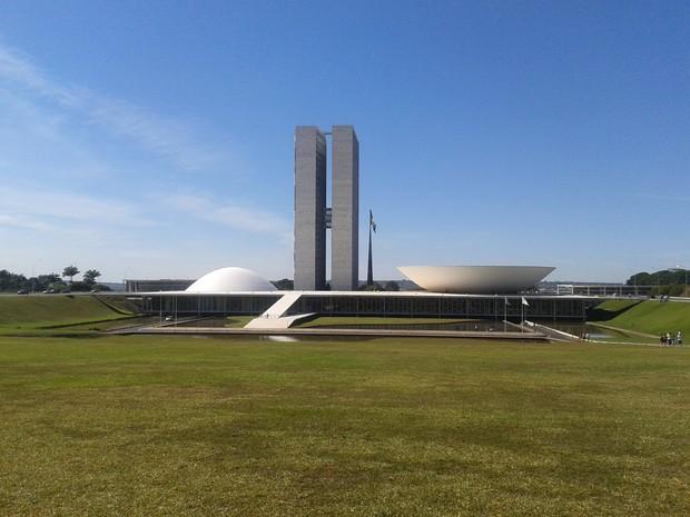 Dá tempo de visitar o Congresso Nacional antes do jogo (Foto: Paulo Guilherme/G1)