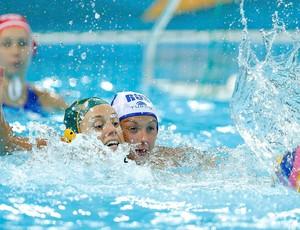 Polo, Australia x Rússia, Gemma Beadsworth e Khokhriakova (Foto: Agência Reuters)