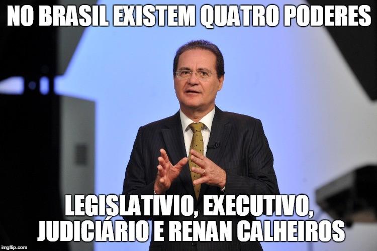 Entenda o caso de Renan Calheiros através dos memes