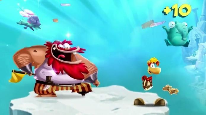 Rayman Adventures trará a jogabilidade dos consoles para dispositivos iOS e Android (Foto: Reprodução/YouTube)