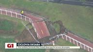 G1 no Bom Dia Rio: Mac Dowell diz que desabamento de ciclovia foi erro de projeto