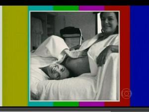 Regiane Alves com a sogra, Regina Duarte (Foto: Vídeo Show/TV Globo)