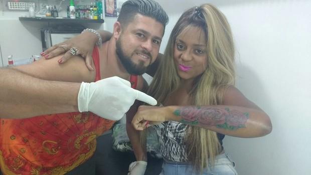 Cariucha (Foto: Studio Design Tattoo/ Divulgação)
