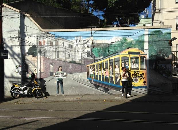 O outro prêmio nesta categoria foi para Stuart Draper, da Grã-Bretanha, com esta foto feita em Santa Teresa, no Rio de Janeiro (Foto: Stuart Draper/www.tpoty.com)