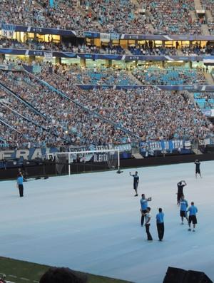 grêmio arena inauguração (Foto: Lucas Rizzatti/Globoesporte.com)