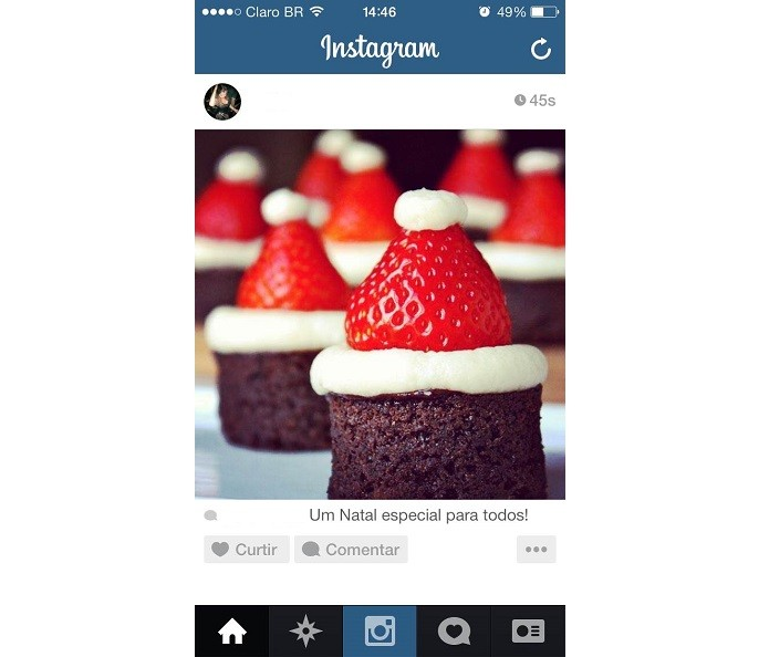 instagram natal (Foto: TechTudo)