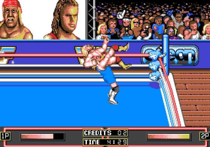 Hulk Hogan vs Mr Perfect (Foto: Reprodução/Uvlist.net)