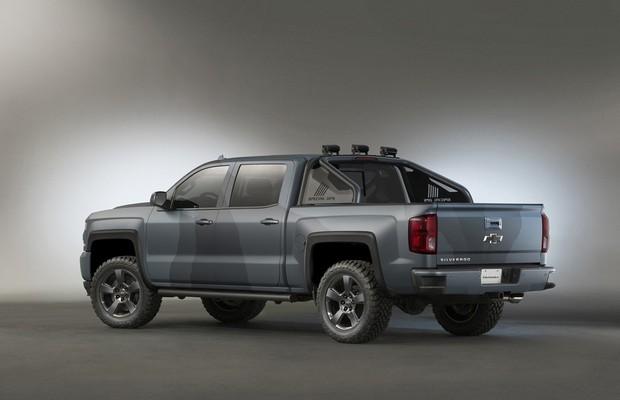Chevrolet Silverado Special Ops (Foto: Divulgação)