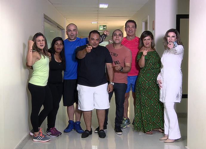 Equipe Me Transforme Para o Verão 2016 Equipe  (Foto: Reprodução Tv Sergipe)
