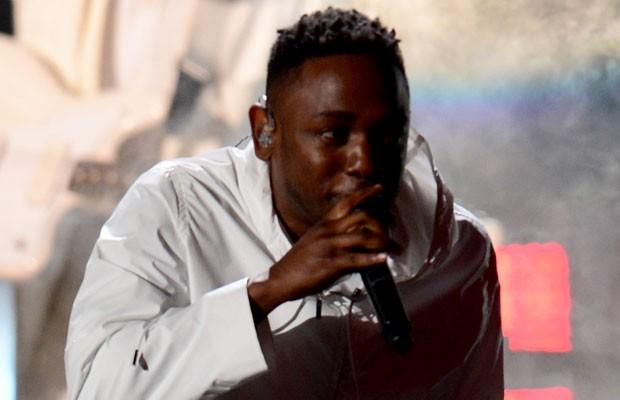 O rapper Kendrick Lamar, durante apresentação no Grammy, em 2014. (Foto: Frederic J. Brown/France Presse)