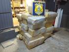 Quase uma tonelada de maconha é encontrada em carga de soja no PR