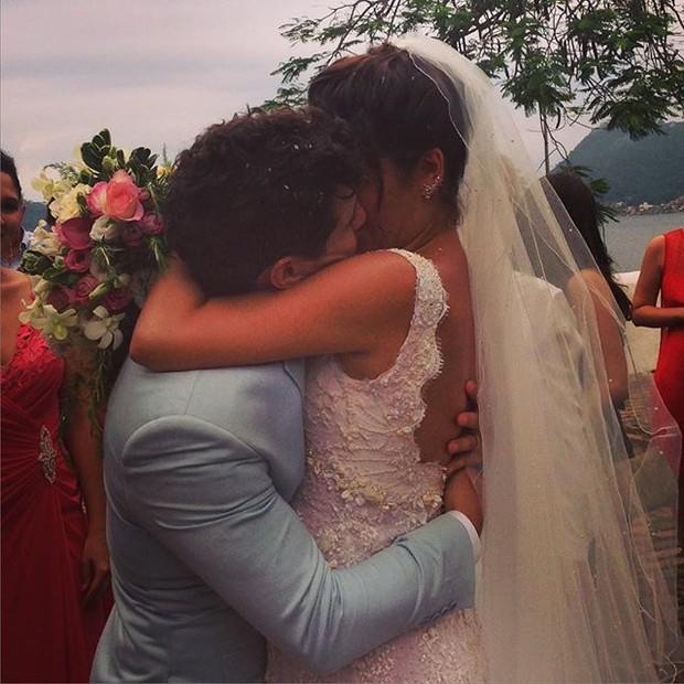 Sophie Charlotte e Daniel Oliveira (Foto: Reprodução/Instagram)