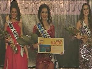 Miss Mato Grosso 2012 (Foto: Reprodução/TVCA)