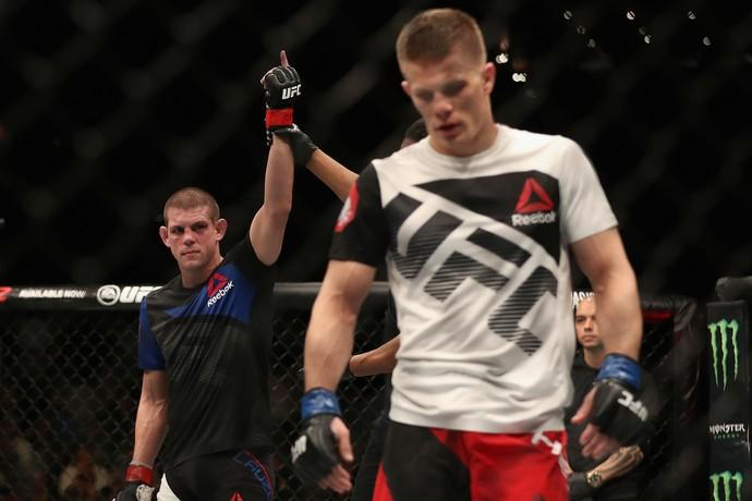 Joe Lauzon, Marcin Held, UFC, MMA (Foto: Getty Images)