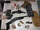 Comerciante é preso com duas armas  de fogo e seis munições no Ceará