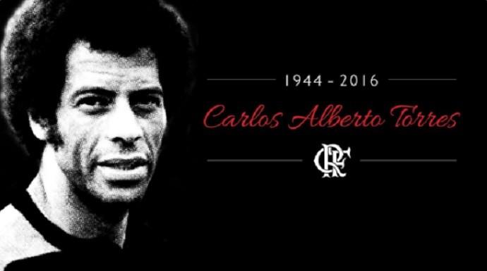 Homenagem do Flamengo a Carlos Alberto Torres (Foto: Reprodução/Twitter)