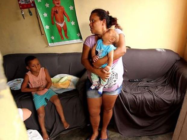 Família tornou-se 'símbolo' de emergência de saúde no Brasil  (Foto: BBC)