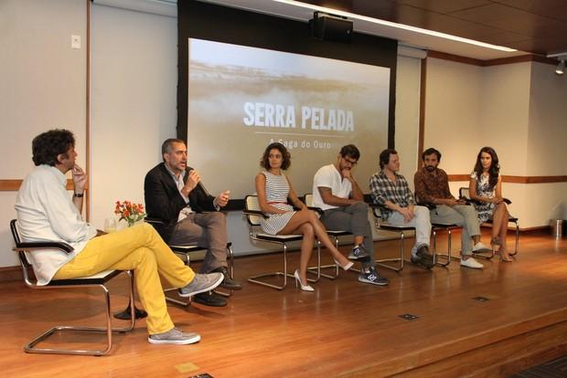"""Coletiva de imprensa """"Serra Pelada - A Saga do Ouro"""" (Foto: Thyago Andrade  / FotoRioNews)"""
